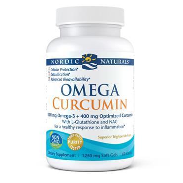 Nordic Naturals Omega Curcumin 60s