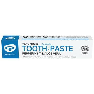 Green People Peppermint Toothpaste 50ml