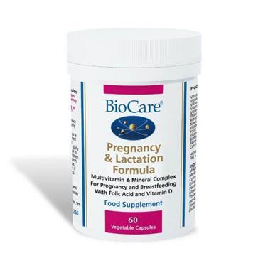 Biocare Pregnancy and Lactation Formula 60 Veg Caps