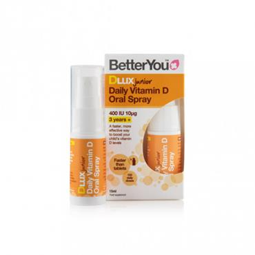 Better You Dlux Junior Vitamin D Oral Spray 15ml
