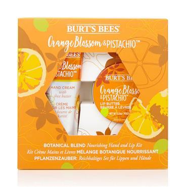 Burt's Bees Botanical Orange Lip & Hand Set