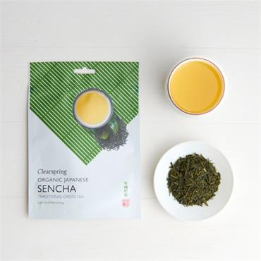 Clearspring Organic Japanese Sencha Loose Tea