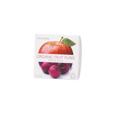 Clearspring Organic Apple & Plum Fruit Purée 200g
