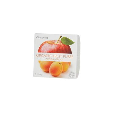 Clearspring Organic Apple & Apricot Fruit Puree 200g