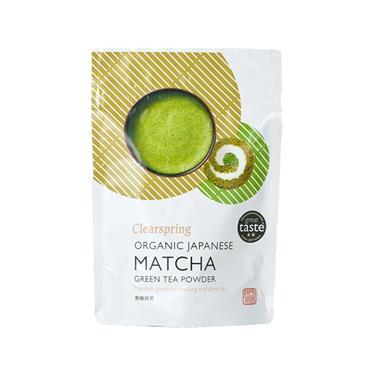 Clearspring Organic Matcha Green Tea Pouch 40g