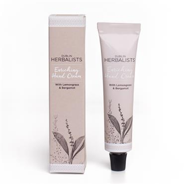 Dublin Herbalists Lemongrass & Bergamot hand cream 30ml