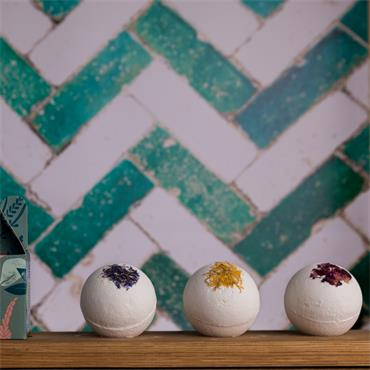 Dublin Herbalists Bath Bomb Gift Set 3pack 450g