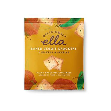 Deliciously Ella Spiced Chickpea Crackers 30g