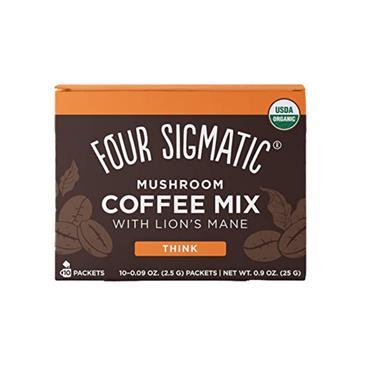 Four Sigmatic Instant Mushroom Coffee Lions Mane Sachets 10s
