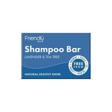 Friendly Shampoo Bar Tea Tree & Lavender 95g
