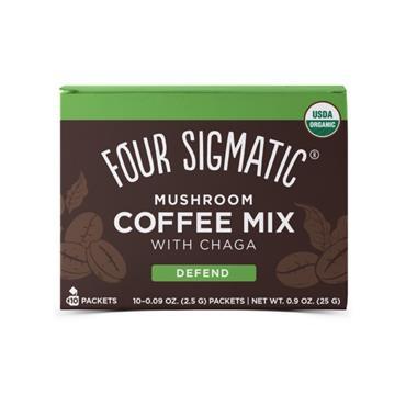 Four Sigmatic Mushroom Coffee Cordyceps & Chaga Sachets 10s