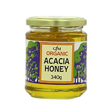 GFM Honey Organic Acacia Honey 340g