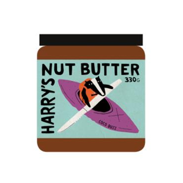 Harry's Coco Buzz Nut Butter 330g