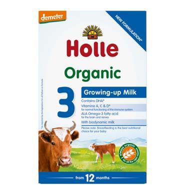 Holle Organic Growing Up Milk 3 12 Months 600g