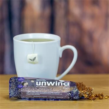 Unwind Roasted Nut & Chocolate Bar 40g