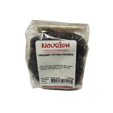 Nourish Organic Pitted Prunes 250g
