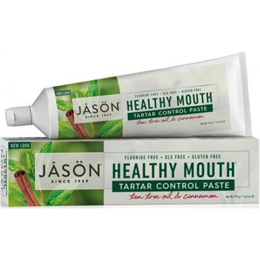 Jason Healthy Tea Tree and Cinnamon Toothpaste 122g