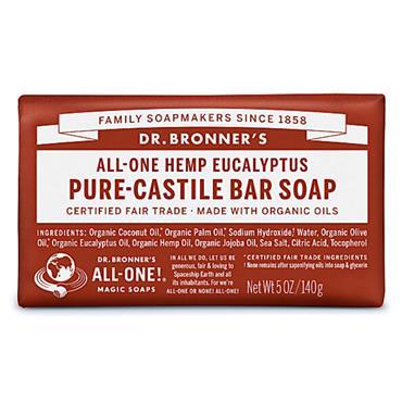 Dr. Bronner's Eucalyptus Soap Bar 140g