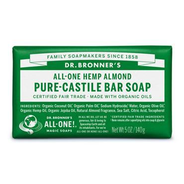 Dr. Bronner's Almond Bar Soap 140g