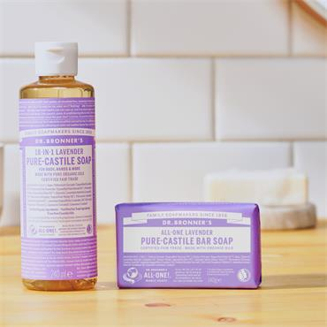Dr. Bronner's Lavender Bar Soap 140g