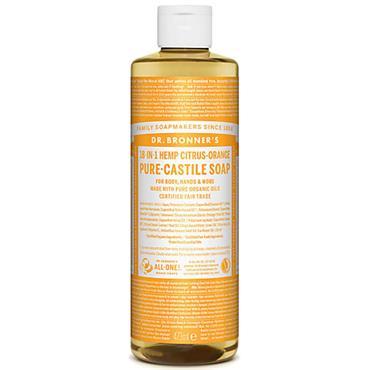 Dr Bronners Citrus Pure Castille Liquid Soap 473ml