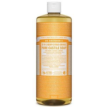Dr Bronners Citrus Pure Castille Liquid Soap 946ml