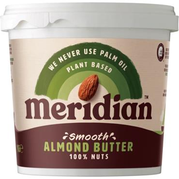 Meridian Smooth Almond Butter 1Kg (No Salt)