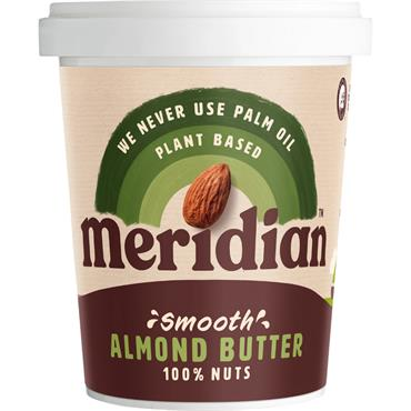 Meridian 100% Smooth Almond Butter 454g