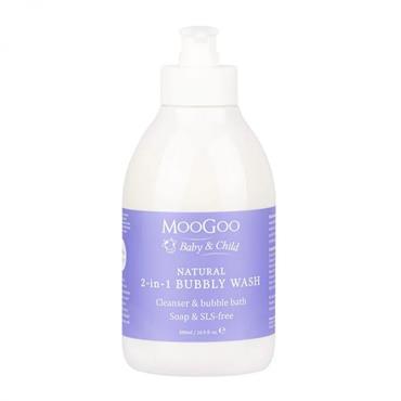 MooGoo Natural Mini Moo Bubbly Wash 500ml
