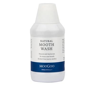 MooGoo Mooth Wash Natural Mouthwash 300ml