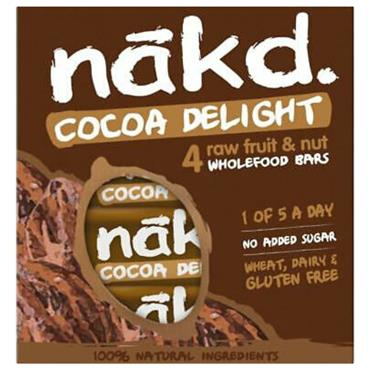 Nakd Cocoa Delight Pack 4x35g