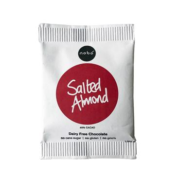 Nobo Salted Almond Dairy Free Chocolate 30g