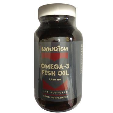 Nourish Omega-3 Fish Oil SoftGels 100s