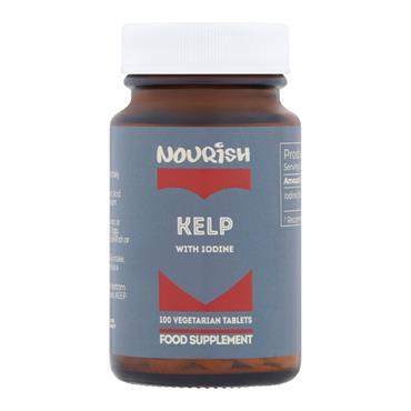 Nourish Kelp with Iodine 100 Tablets
