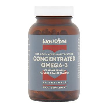 Nourish Concentrated Omega-3 60 Capsules