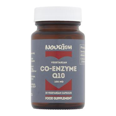 Nourish COQ10 100mg 30s (Ubiquinone)