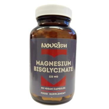 Nourish Magnesium Glycinate 133mg Veg Caps 90s
