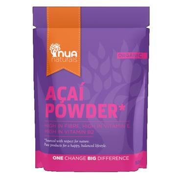 Nua Naturals Organic Acai Powder 50g