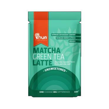 NUA Naturals Organic Matcha Latte Unsweetened 65g