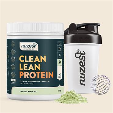 Nuzest Vanilla Matcha Clean Lean Protein 500g