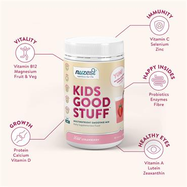 Nuzest Kids Strawberry 225g
