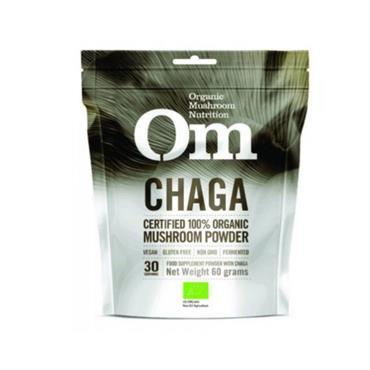 Om Organic Mushroom Chaga Powder 60G