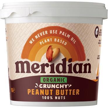 Meridian Organic Crunchy Peanut Butter (no salt)