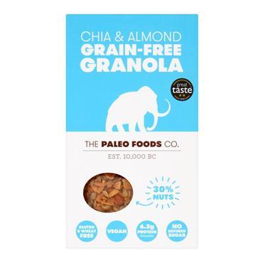 The Paleo Foods Co. Chia & Almond Grain Free Granola 285g