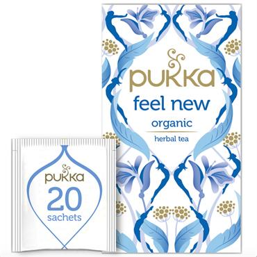 Pukka Feel New Tea 20 sachets