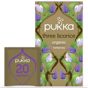 Pukka Organic Three Licorice Tea 20 Sachets