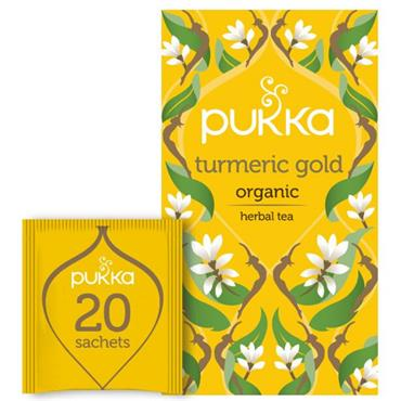 Pukka Turmeric Gold Tea 20s