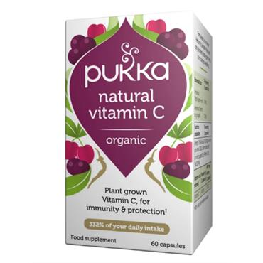 Pukka Natural Vitamin C Capsules 60s