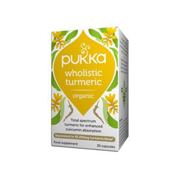 Pukka Wholistic Turmeric Capsules 30s