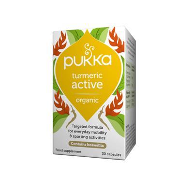 Pukka Active Capsules (Turmeric & Boswellia) Capsules 30s